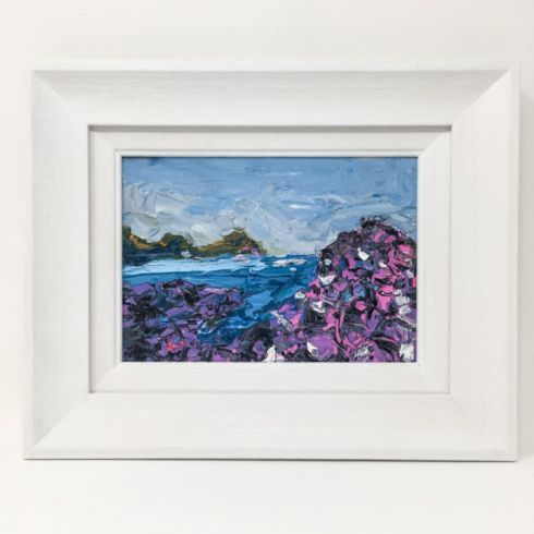 in klöver | ni design - Aly Harte - 'Giant's Causeway' Original Oil on Canvas